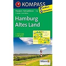 Hamburg, Altes Land: Wanderkarte mit Aktiv Guide und Radwegen. GPS-genau. 1:50000 (KOMPASS-Wanderkarten, Band 726)