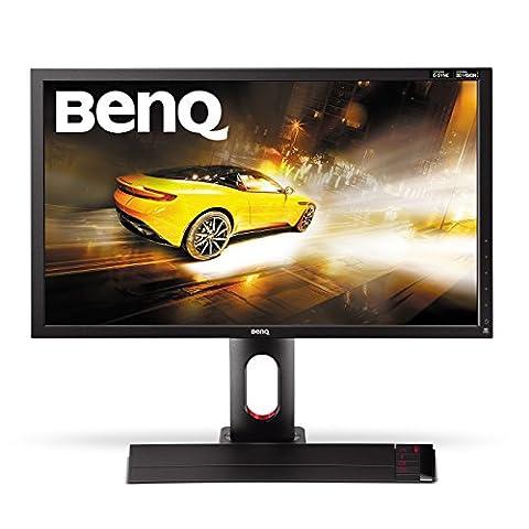 BenQ XL2420G 61 cm (24 Zoll) Monitor (VGA, DVI, HDMI, USB, 1ms Reaktionszeit, 144 Hz, Full HD, 3D, G-Sync, Eye-Care) schwarz