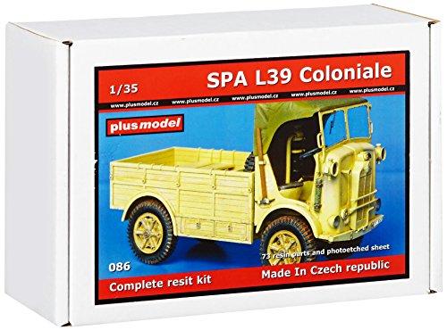 Plus model - modellino auto spa l39 coloniale scalaa 1:35