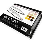 Royal and Langnickel - Azure Artist Markers - Dual Tip - 12 Colours