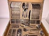 VERSAC Medusa Mäander LUXUS EDELSTAHL 72 TLG. BESTECKSET BESTECK SET TAFELBESTECK BESTECKKOFFER Cutlery Set ( SO LANGE DER VORRAT REICHT )