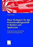 Neue Strategien für das Firmenkundengeschäft von Banken und Sparkassen. Risikosteuerung, Marketing und Prozessmanagement