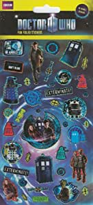 Paper Projects Dr Who Large Foiled Stickers