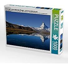 Premium Textil-Leinwand 45 cm x 30 cm quer Ein Motiv aus dem Kalender Unterwegs in den Schweizer Bergen - swissmountainview.ch