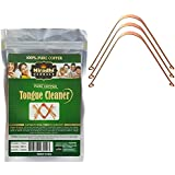 Pack Of 3 : Ayurvedic Copper Tongue Cleaner / Scrapper By Niradhi Herbals (Pack Of 3)