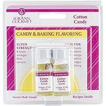 Lorann Oils Candy & .125Oz condimento di cottura bottiglia 2/Pkg-Cotton Candy