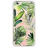 SecondDromi Interessanter tropischer Regenwald lässt Muster Silikon hülle für iPhone 8 (4,7