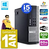 Dell PC 9020 SFF Intel i5-4570 RAM 8 GB Festplatte 500 GB DVD-Brenner WLAN W7