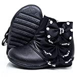 Mishlee Baby Girl Boots-Black Color,Pink Color and White Color