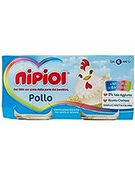 Nipiol Omogeneizzato, Pollo e 3% di Cereale per Una Ricetta Cremosa, da 4 Mesi - 160 gr