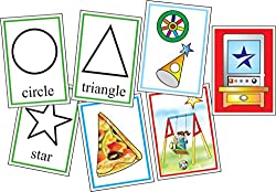 Creative Educational Aids 0521 Shapes - Flash Cards