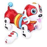 Cane da compagnia elettronico per bambini, Dancing interattivo di canto del giocattolo del cucciolo di cane robot