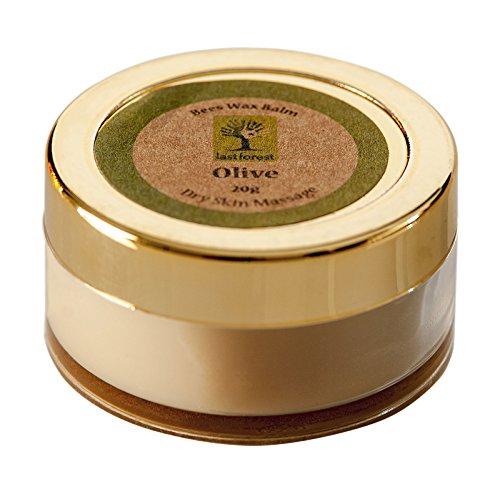 Dernière Forêt De Cire D'Abeille D'Olive Guérir Baume Pourle Massage De La Peau Sèche - 0,7 Oz