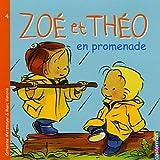 Zoé et Théo en promenade