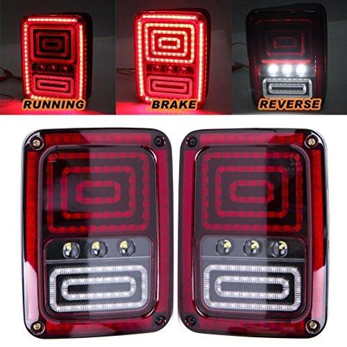 Licht, Linse, Dichtung (Universal LED-Motorrad-Rücklicht-Leuchtmittel, Lampenanzeige)