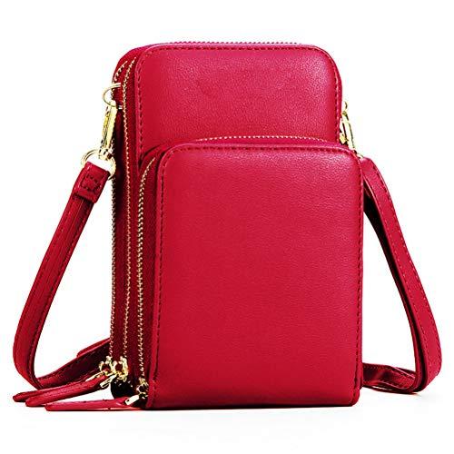 Handy Umhängetasche Mädchen, Handytasche zum Umhängen Kartentasche Geldbörse Kleiner Taschen Damentasche für Frauen Kinder Schlüsselanhänger