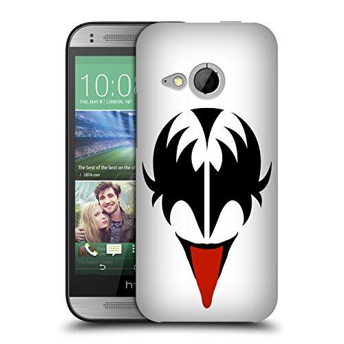 Offizielle KISS Gene Simmons Gesicht Solo Ruckseite Hülle für HTC One mini 2