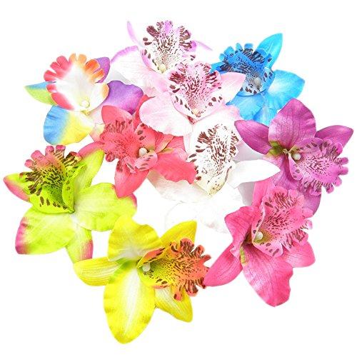 10-x-playa-hawaiano-flor-orqudea-boda-Clips-de-pelo-pasador-de-cabello-accesorios-disfraz-de-pelo-fiesta-color-al-azar