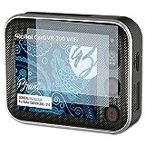 Bruni Película Protectora para Rollei CarDVR-200/210 Protector Película - 2 x Claro Lámina Protectora de Pantalla