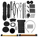 Accessori Per Capelli,Tipi set di acconciature Hair Styling Tool, Mix Accessori Set Gioielli per Capelli Donne Ragazze per DIY