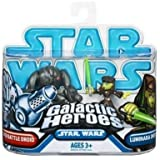 Star Wars 2009 Galactic Heroes 2-Pack Luminara and Super Battle Droid