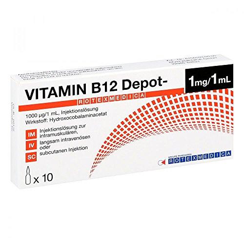 Vitamin B12 Depot Rotexme 10X1 ml