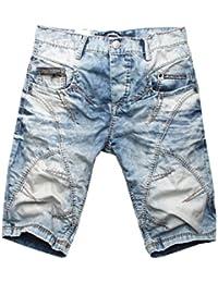Cipo & Baxx Herren Jeans Shorts Bermuda C-0090
