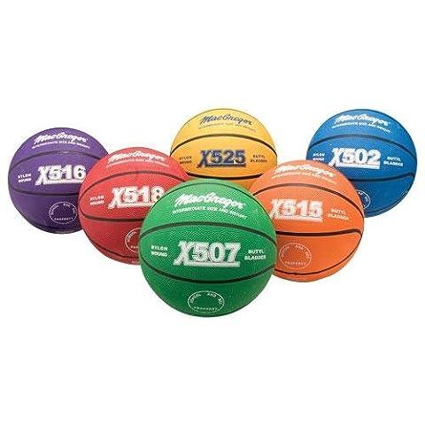 MacGregor Intermediate Size Multicolor Basketball,