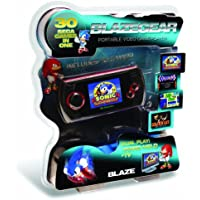 Blaze Gear Sega Master System LCD Handheld - Features 30 Master System and Game Gear Games
