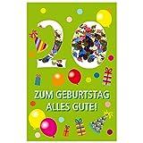 Susy Card 40010236 Geburtstagskarte, 20. Geburtstag