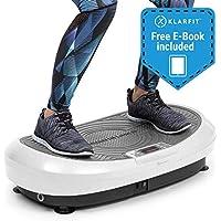 Série Klarfit Vibe • Plateforme vibrante haute fréquence 3D & 4D • 1 à 3 moteurs • Entraînement innovant aux vibrations • Cordes d'alimentation incluses • Livre électronique de fitness gratuit