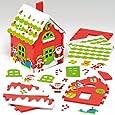 Laboratorio dei giocattoli di Babbo Natale per bambini (confezione da 2)