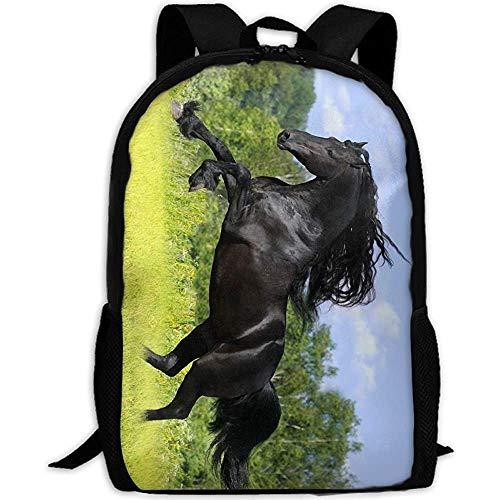 Daypacks Pferd Bilder Erwachsene Reise Rucksack Schule Casual Daypack Oxford Outdoor Laptop Tasche College Computer Umhängetaschen -