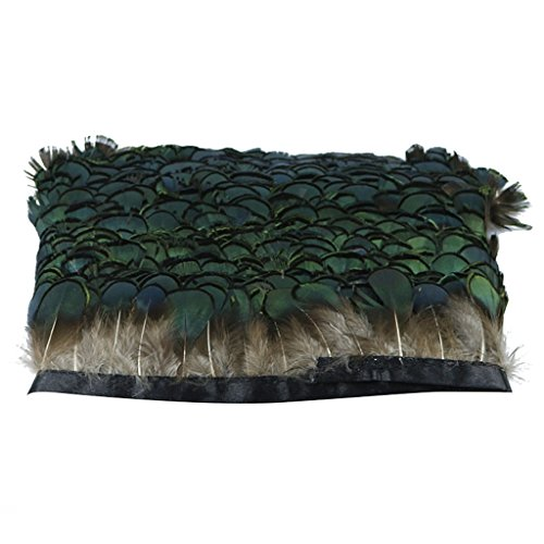 Natur Dekoration Hahnfeder fasan Feder 1yard Ideal für Kostüme, Hüte, basteln, Zuhause Dekor, DIY usw. - (Kostüme Diy Erwachsene)