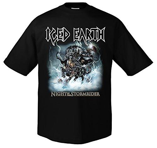 Iced Earth Stormrider 701515 Herren T-Shirt 001 S -