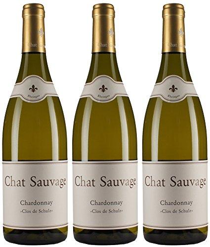 Chat-Sauvage-Clos-de-Schulz-Chardonnay-2015-Trocken-3-x-075-l