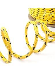 200m jaune corde polypropylene poly cordage 2mm - plusieurs tailles et couleurs