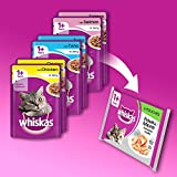 Whiskas Wet Cat Food 84 x 100 g Pouch for 1+ Adult, Mixed Selection in Jelly Bild 6