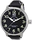 Zeno Watch Basel Herren-Armbanduhr XL Quarz Analog Leder 6221Q-a1