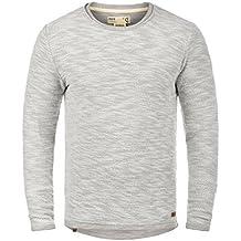Solid Flocky Herren Sweatshirt Pullover Pulli Mit Rundhalsausschnitt Aus  100% Baumwolle ! b34b41f455