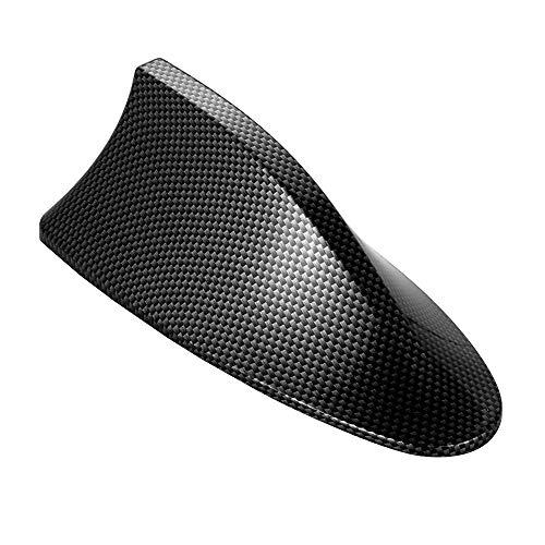 DINBGUCHI 1 stück autoaufkleber kohlefaser antenne haifischflosse Abdeckung für BMW Serie universal