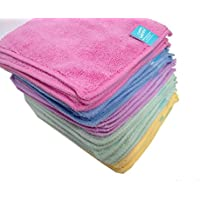 Cheeky Wipes 25 Rainbow Micro Fibre Cloth Baby Wipes (Baby Products)