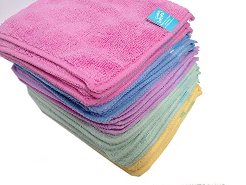 Cheeky Wipes 25 Aqua Micro Fibre Cloth Baby Wipes 511QgoSiMRL