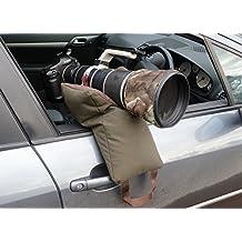Grappler Kamera Bohnensack, Empty, Große U-förmige Tasche für die Tele- objektive zum Fotografieren aus einem Auto, Diese Version kommt leer, wasserdicht