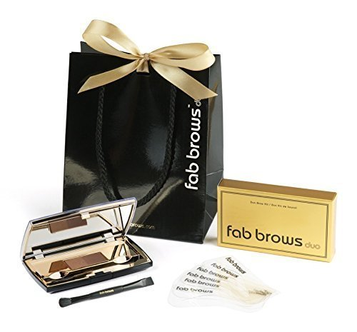 FAB BROWS KIT DUO - BRUN CLAIR & BRUN MOYEN - Light Brown & Medium Brown