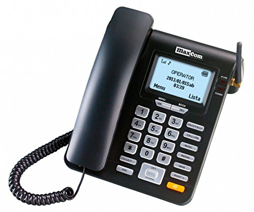 Maxcom - teléfono Fijo gsm Escritorio Tarjeta