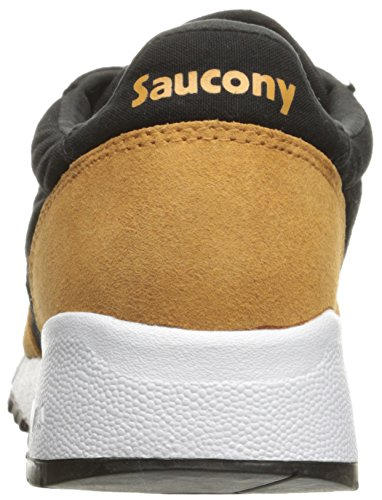 Saucony Jazz 91, Baskets Basses Mixte Adulte, Blanc Noir