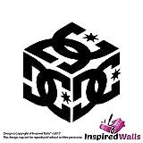 DC Cube Aufkleber - BMX Logo Schuhe Skate Grafik Platz Ken Block by Inspired Walls®
