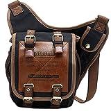 Vogstyle Fashion Vintage Designer Canvas Shoulder Crossbody Messenger Bags Pla...
