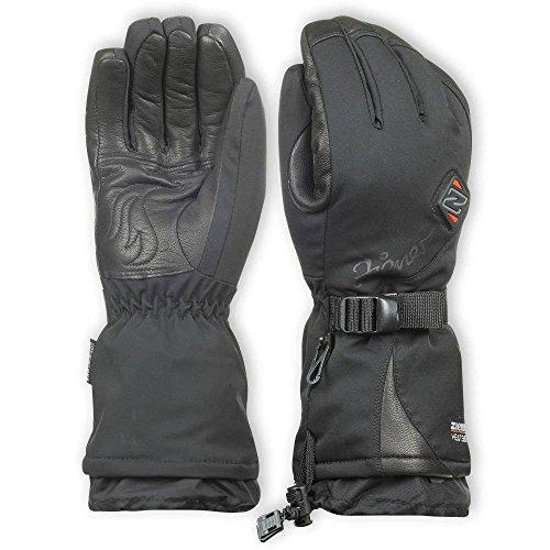Ziener Kanani beheizbare Ski Handschuhe Damen, schwarz, 7